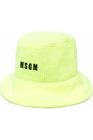 Msgm Embroidered-logo hat