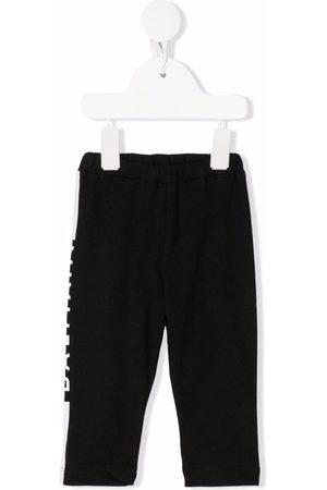 Balmain Sports Trousers - Side-logo tracksuit trousers
