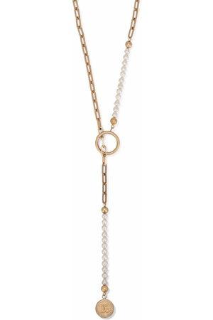 Dolce & Gabbana Men Necklaces - Faux-pearl pendant necklace
