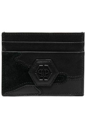 Philipp Plein Men Wallets - Logo-plaque cardholder