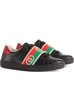 Gucci Ace round-toe sneakers