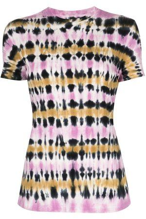 PROENZA SCHOULER WHITE LABEL Women Short Sleeve - Tie-dye T-shirt