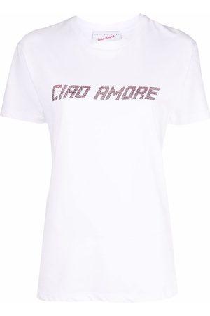 GIADA BENINCASA Graphic-print cotton T-Shirt