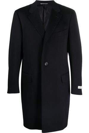 CANALI Single-breasted tailored coat