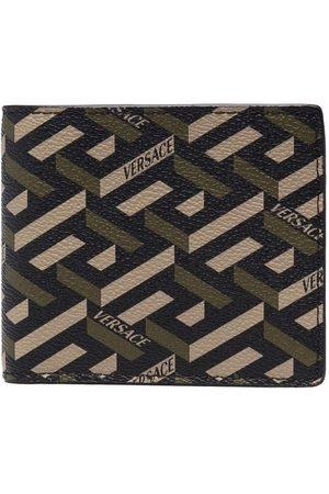 VERSACE La Greca pattern wallet