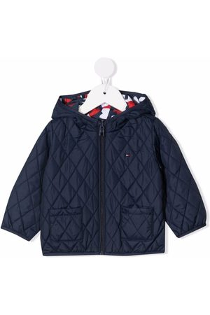 Tommy Hilfiger Jackets - Abstract-print quilted jacket