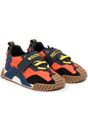 Dolce & Gabbana Boys Sneakers - Low-top colour-block trainers
