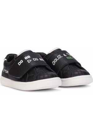 Dolce & Gabbana Boys Sneakers - Logo touch-strap trainers