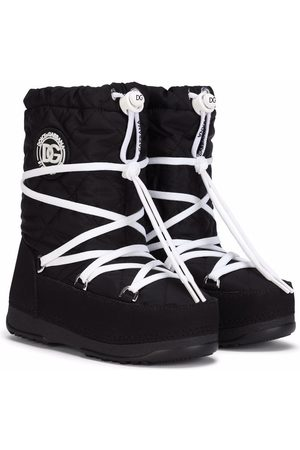 Dolce & Gabbana Boys Snow Boots - Lace snow boots