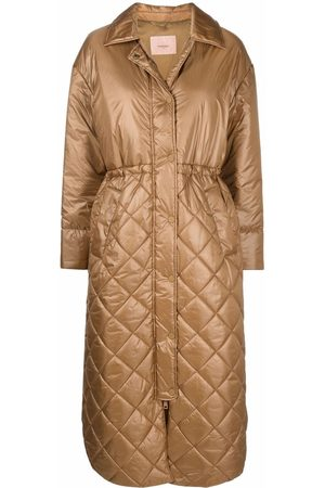 Twin-Set Quilted parka coat