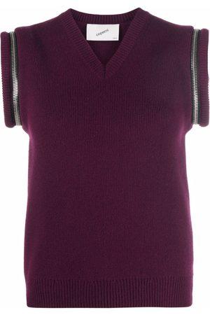 COPERNI Zip-details wool vest