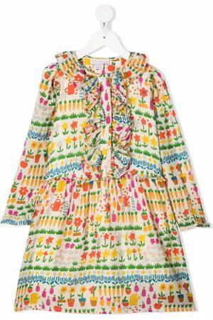 Stella McCartney Girls Casual Dresses - Allotment ruffled dress