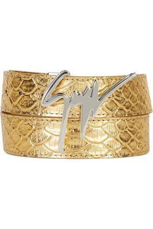 Giuseppe Zanotti Signature buckle belt
