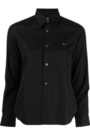 Comme des Garçons Play-logo longsleeved shirt