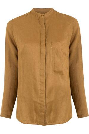 OSKLEN Women Long Sleeve - Linen slim shirt