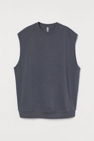 H&M Women Tank Tops - Sleeveless sweatshirt - Grey
