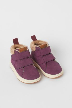 H&M Boys Sneakers - Warm-lined hi-tops