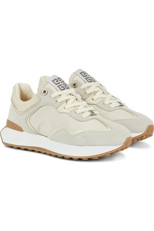 Givenchy GIV Runner leather and suede sneakers