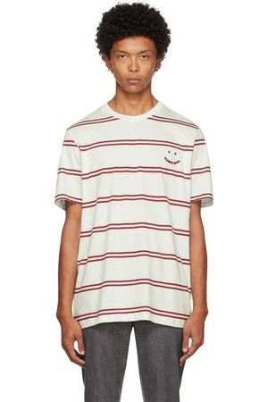 Paul Smith Off- & Red Happy T-Shirt
