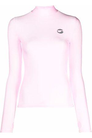 COPERNI Women Tops - Logo-print high-neck top
