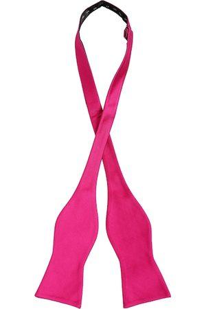 Alvaro Castagnino Men Pink Solid Bow Tie
