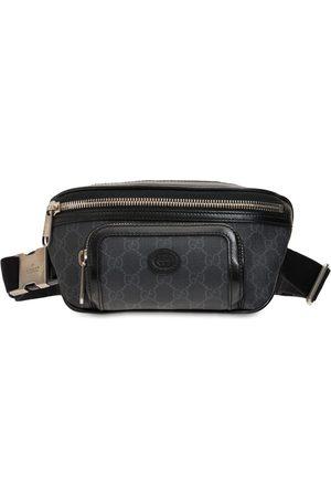Gucci Men Belts - Gg Supreme Canvas Belt Bag