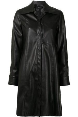 Low Classic Women Long Sleeve - Oversized-collar long shirt