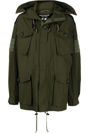 JUNYA WATANABE Women Parkas - The Who-patch hooded parka