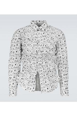 Comme des Garçons Men Long Sleeve - Kaws printed long-sleeve shirt