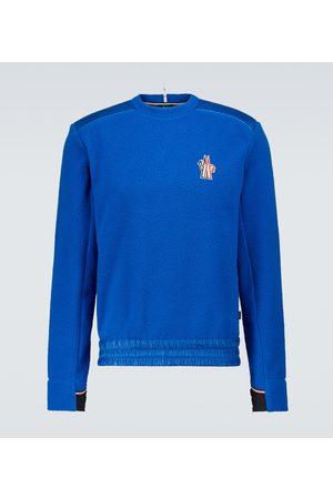 Moncler Men Sweatshirts - Fleece logo sweatshirt