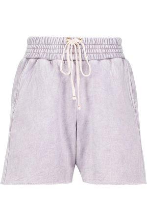 Les Tien Cotton fleece shorts