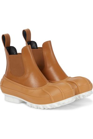Stella McCartney Duck City faux leather Chelsea boots