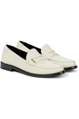 Saint Laurent Women Loafers - Le Loafer leather loafers