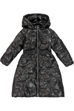 Emporio Armani Hooded puffer coat