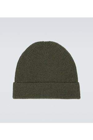 LEMAIRE Knitted wool beanie