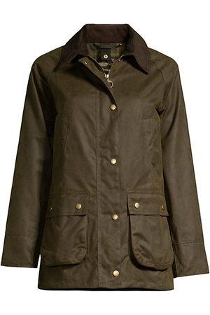 Barbour Women Outdoor Jackets - Acorn Wax Cotton Jacket