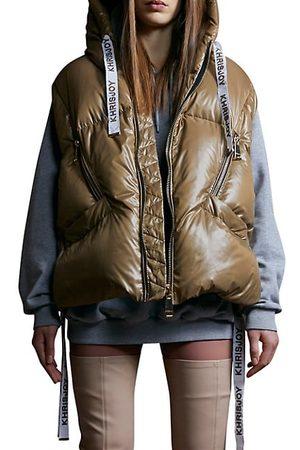 Khrisjoy Women Parkas - Shiny Puffer Vest