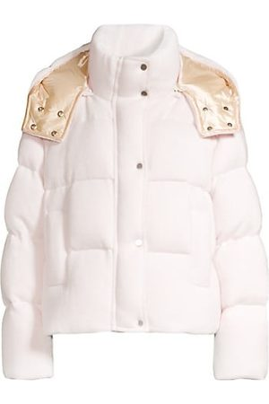 Nicole Benisti Women Parkas - Bowery Jacquard Down Puffer Coat