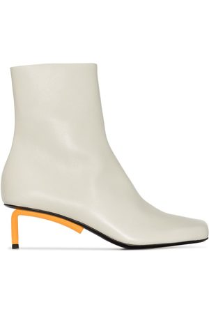 OFF-WHITE Women Ankle Boots - Allen 55mm leather ankle boots