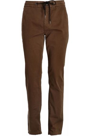 HUGO BOSS Men Stretch Trousers - Tapered-fit stretch-cotton trousers