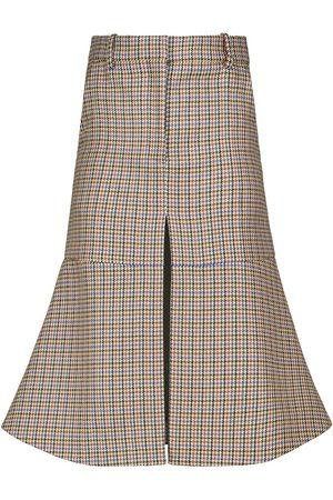 Stella McCartney Women Midi Skirts - Plaid midi skirt