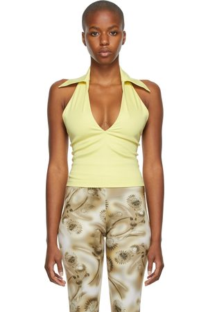 Anne Isabella SSENSE Exclusive Collared Tank Top