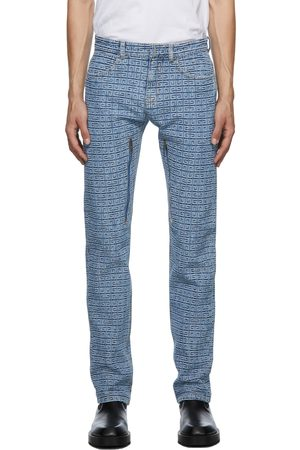 Givenchy Regular Fit 4G Jacquard Jeans