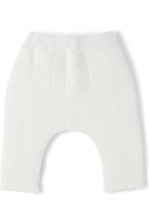 Petit Bateau Trousers - Baby Organic Cotton Quilted Trousers