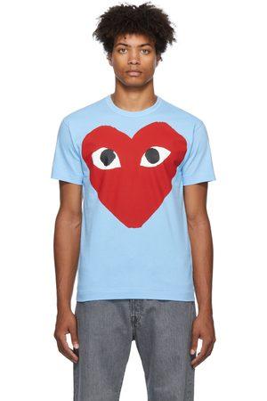 Comme des Garçons Men Short Sleeve - Printed Heart T-Shirt