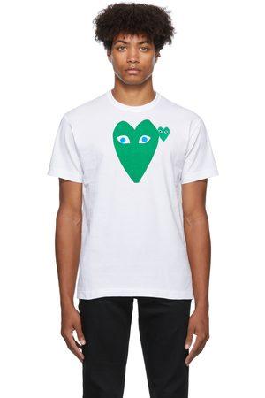 Comme des Garçons Men Short Sleeve - Big Heart T-Shirt