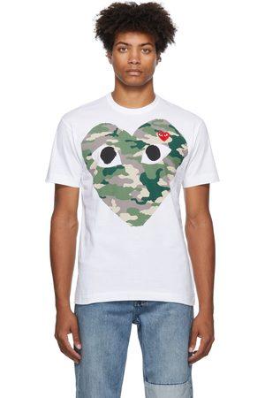 Comme des Garçons Men Short Sleeve - Double Heart T-Shirt