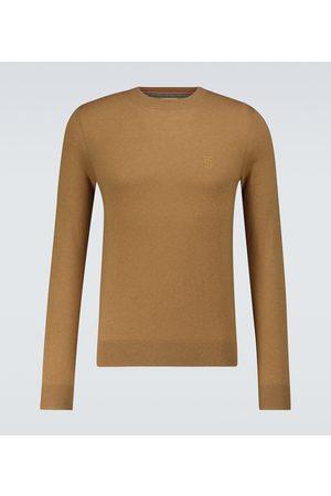 Burberry Men Jumpers - Cashmere crewneck sweater