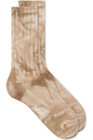 Hobo Tie-Dyed Crew Socks
