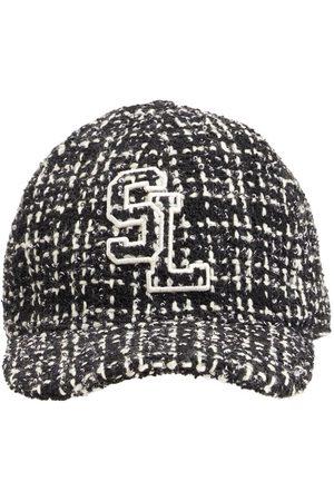Saint Laurent Casquette Tweed Hat
